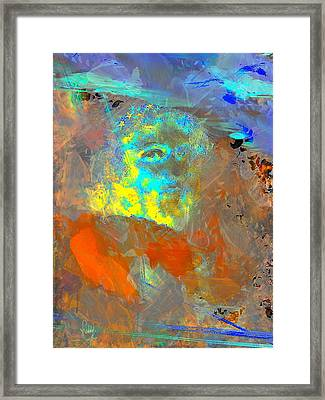 Que Le Temps Me Libere  Framed Print by Freddy Kirsheh