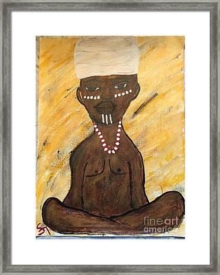 Que Viva Chango Framed Print by Sha Kimono