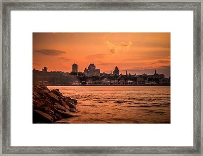 Quebec City Framed Print by Nathan Masters