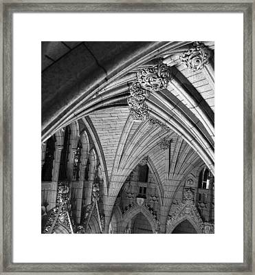 Quebec Parliament Building Framed Print