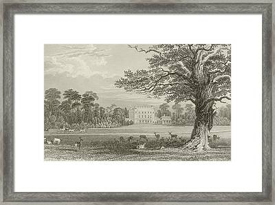 Queen Adelaides Lodge  Framed Print