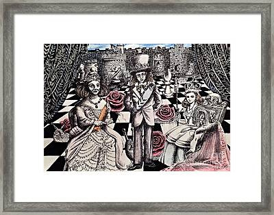 Queen Alice  Framed Print by Keiko Olds
