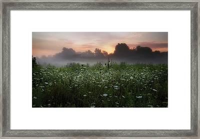 Queen Ann Sunrise Framed Print by Bill Wakeley