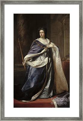 Queen Anne Framed Print by Edmund Lilly
