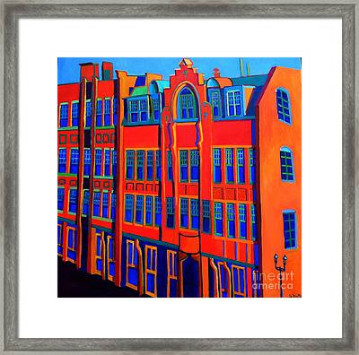 Queen Anne In Lowell Framed Print