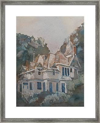 Queen Anne Nods To Shirley Jackson Framed Print