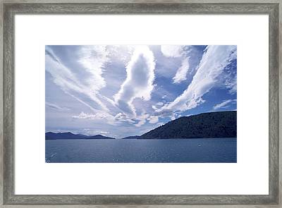 Queen Charlotte Sound Framed Print by Kevin Smith