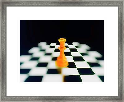 Queen Domination Framed Print