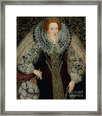 Queen Elizabeth I Framed Print by John the Younger Bettes