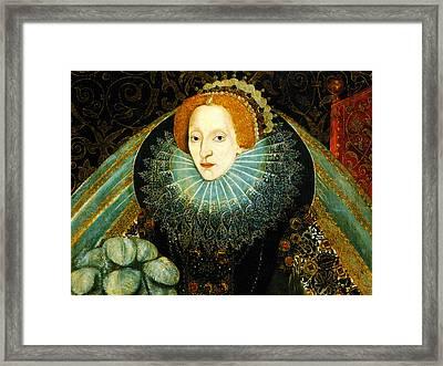 Queen Elizabeth I Of England Framed Print by Bill Cannon