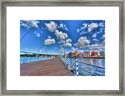 Queen Emma Bridge Framed Print