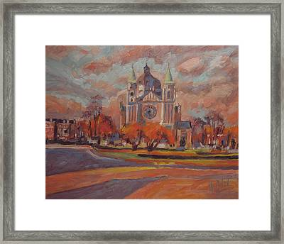 Queen Emma Square In Autumn Colours Framed Print