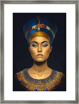 Queen Esther Framed Print by Karen Showell