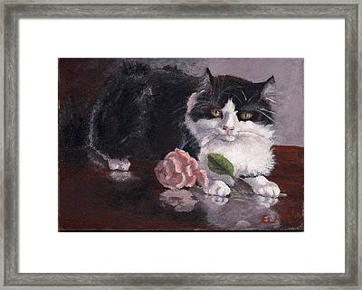 Queen For A Day Framed Print by Elizabeth Lane