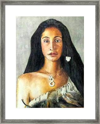 Queen Gassulawiya  Framed Print