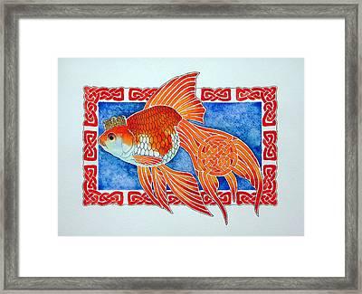 Queen Goldfish Framed Print by Sergei Anikin