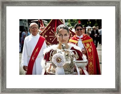 Queen Isabella Framed Print by Yuri Lev