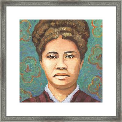 Queen Liliuokalani Framed Print