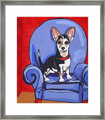 Queen Lucy Framed Print by Laura Brightwood