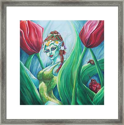 Queen Maeve's Realm Framed Print by Lori Kuhn