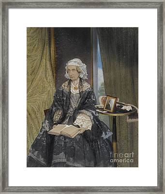 Queen Marie Framed Print by Celestial Images
