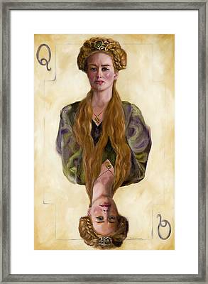 Queen Mother Framed Print by Denise H Cooperman