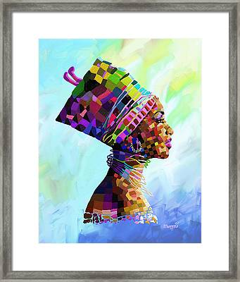 Queen Nefertiti Framed Print