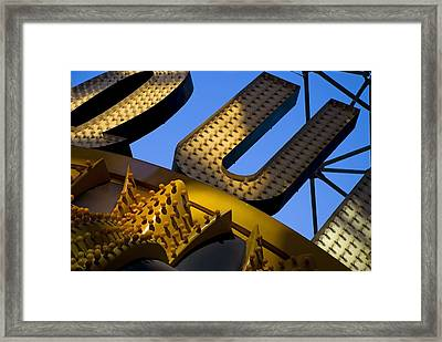 Queen Of Hearts Framed Print by Skip Hunt