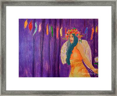 Queen Of May Framed Print