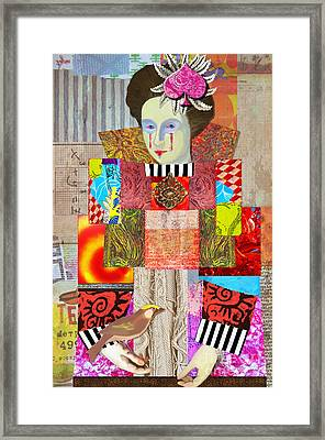 Queen Of Spades Custom Order Framed Print by Elena Nosyreva
