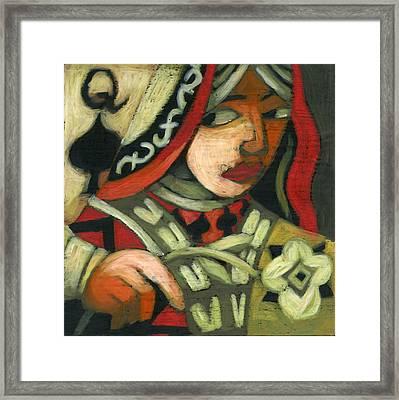 Queen Of Spades Framed Print