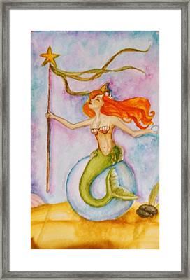 Queen Of Staves, Milandra Framed Print