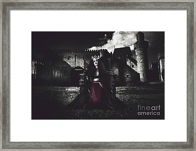 Queen Of The Dark Monarch Framed Print by Jorgo Photography - Wall Art Gallery