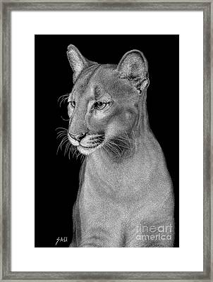 Queen Of The Everglades Framed Print