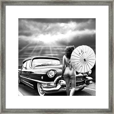 Queen Of The Highway 2 Framed Print by Larry Butterworth