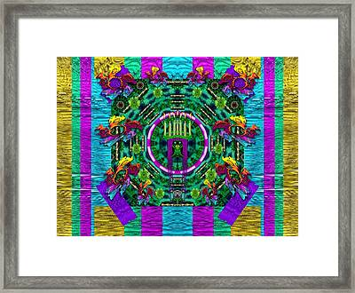 Queen Of The Light Framed Print by Pepita Selles