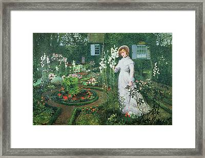 Queen Of The Lilies Framed Print