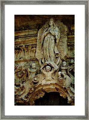 Queen Of The Missions Framed Print