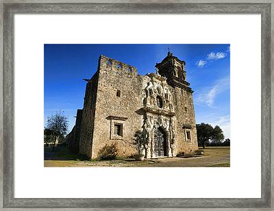 Queen Of The Missions - San Jose Framed Print by Stephen Stookey