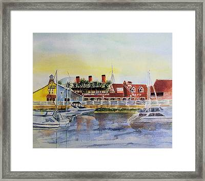 Queen Of The Shore Framed Print