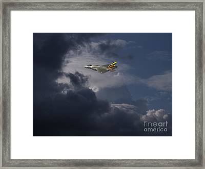 Queen Of  The Skies Framed Print by Celestial Images