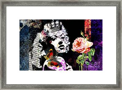 Queen Framed Print by Ramneek Narang