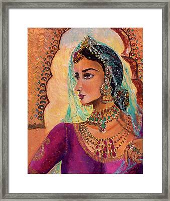 Queen Framed Print by Sarabjit Singh