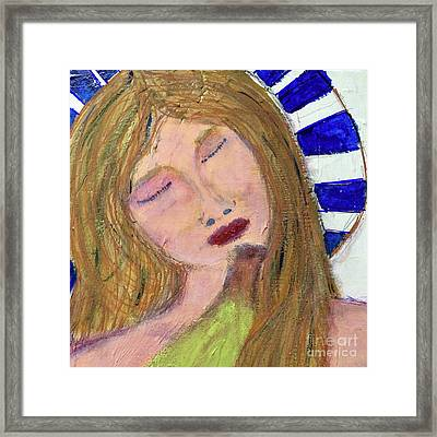 Queen Serene Framed Print