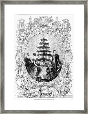 Queen Victoria, 1852 Framed Print by Granger