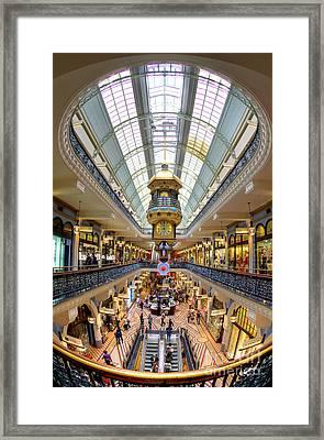 Queen Victoria Building - Sydney - Australia Framed Print by Bryan Freeman