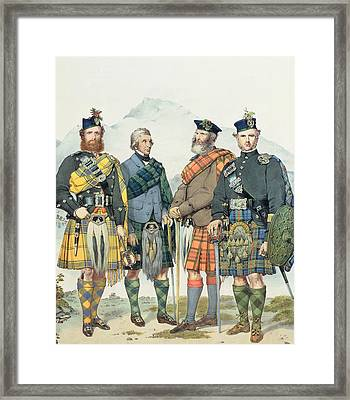 Queen Victoria's Highlanders Framed Print by Kenneth Macleay