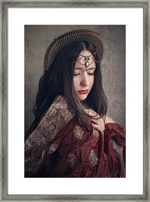 Queen Framed Print by Cambion Art