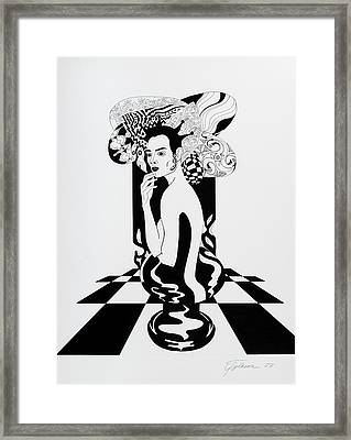 Queen Framed Print by Yelena Tylkina