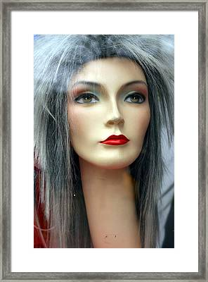 Queenie Framed Print by Jez C Self
